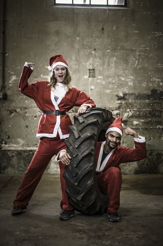 Santa's workouts!